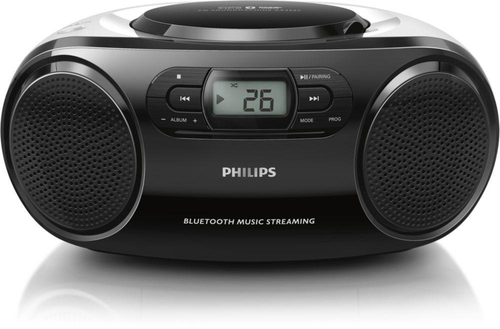 Philips AZ330T/12 (černý)