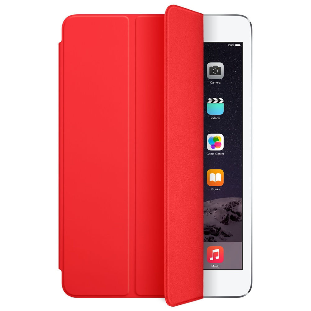 Apple iPad mini Smart Cover MGNL2 (červený)