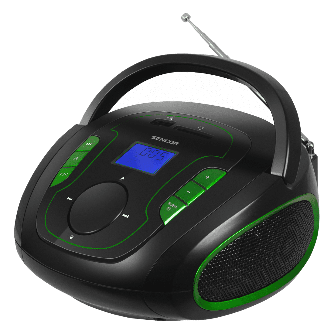 Sencor SRD 230 BGN (černo-zelené)