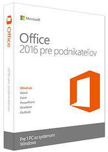 Microsoft Office 2016 pro podnikatele Win CZ
