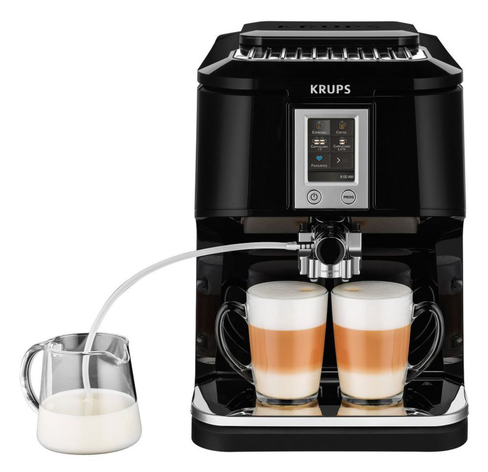 KRUPS EA880810 2in1 Touch Cappuccino (černá) - Automatické espresso