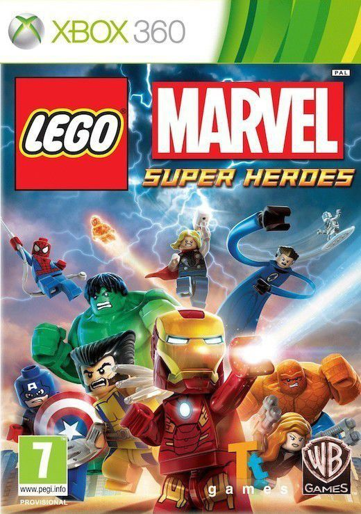 LEGO Marvel Super Heroes Class - hra pro Xbox 360