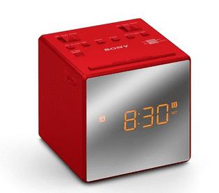 Sony ICF-C1TR (červený)