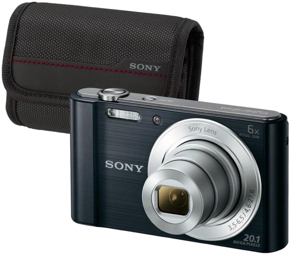 Sony DSC-W810 (černý) + pouzdro