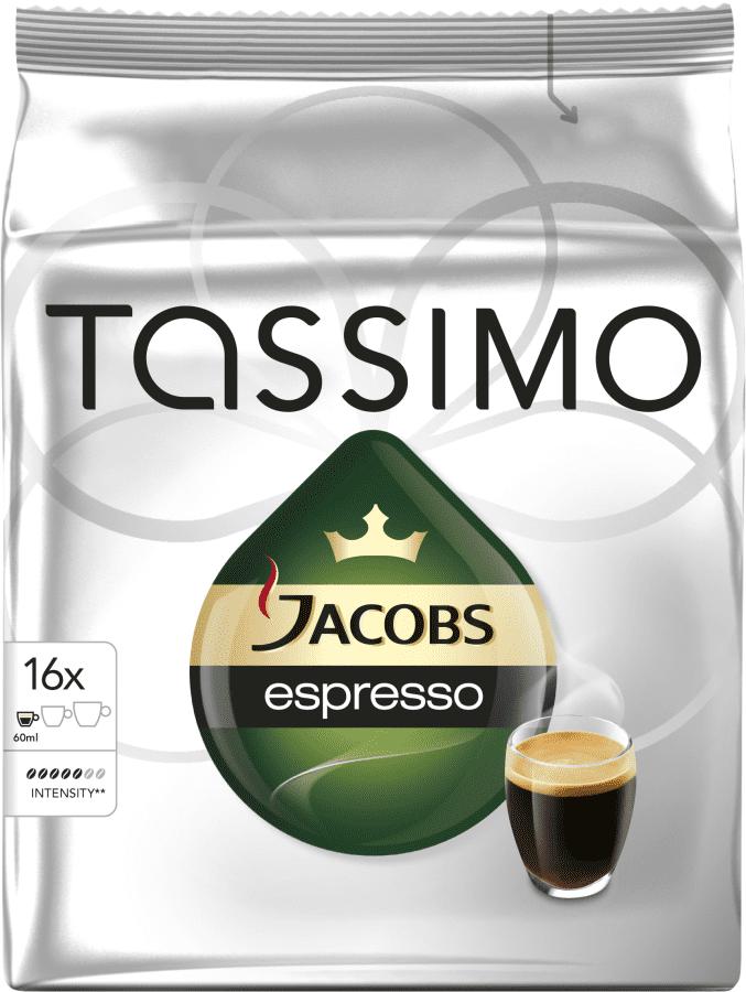 TASSIMO Espresso - kapslová káva pro kávovary Tassimo