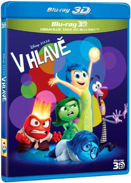 V hlavě (3D+2D) - Blu-ray film