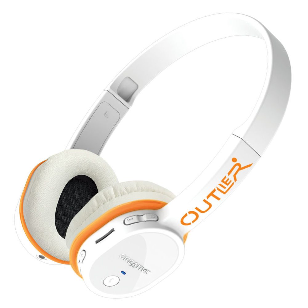 Creative Outlier white - BT headset & MP3 player