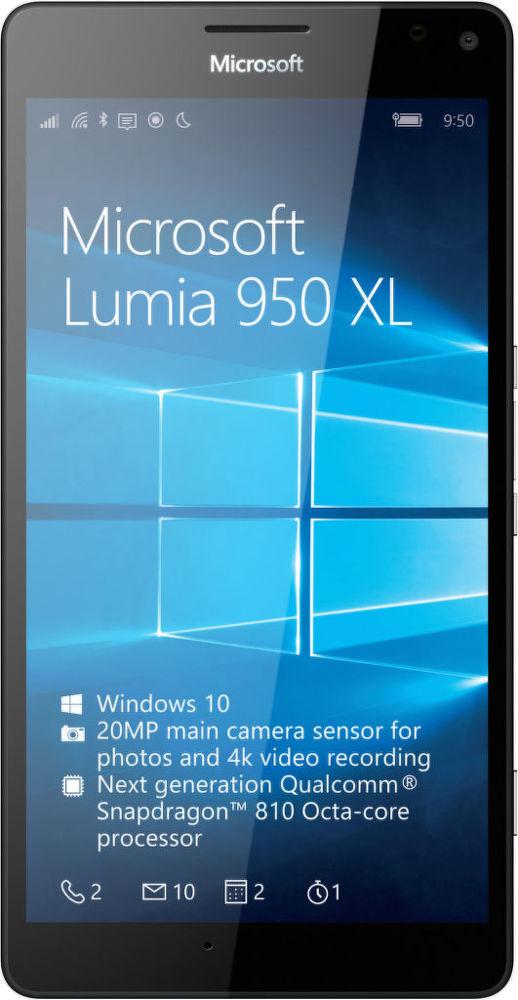 Microsoft Lumia 950 XL Dual SIM LTE (černý)
