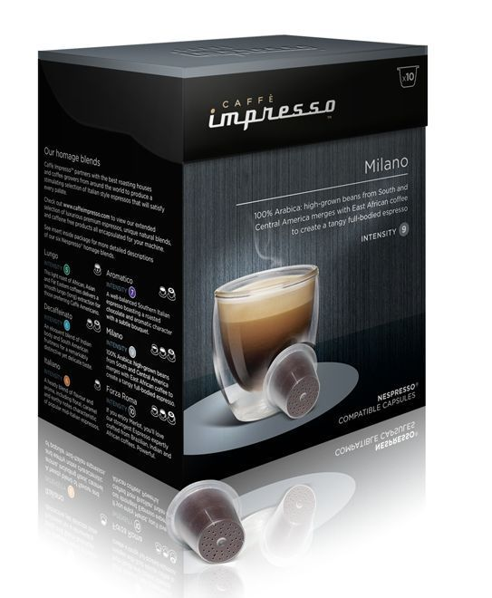 Caffe Impresso Milano - káva na kapsle