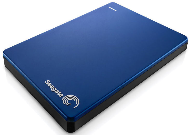 Seagate Backup Plus Slim Portable 2TB (modrý)