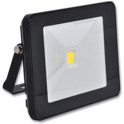EcoLite LED reflektor - COB, 20W, IP65, 4100K (černý)