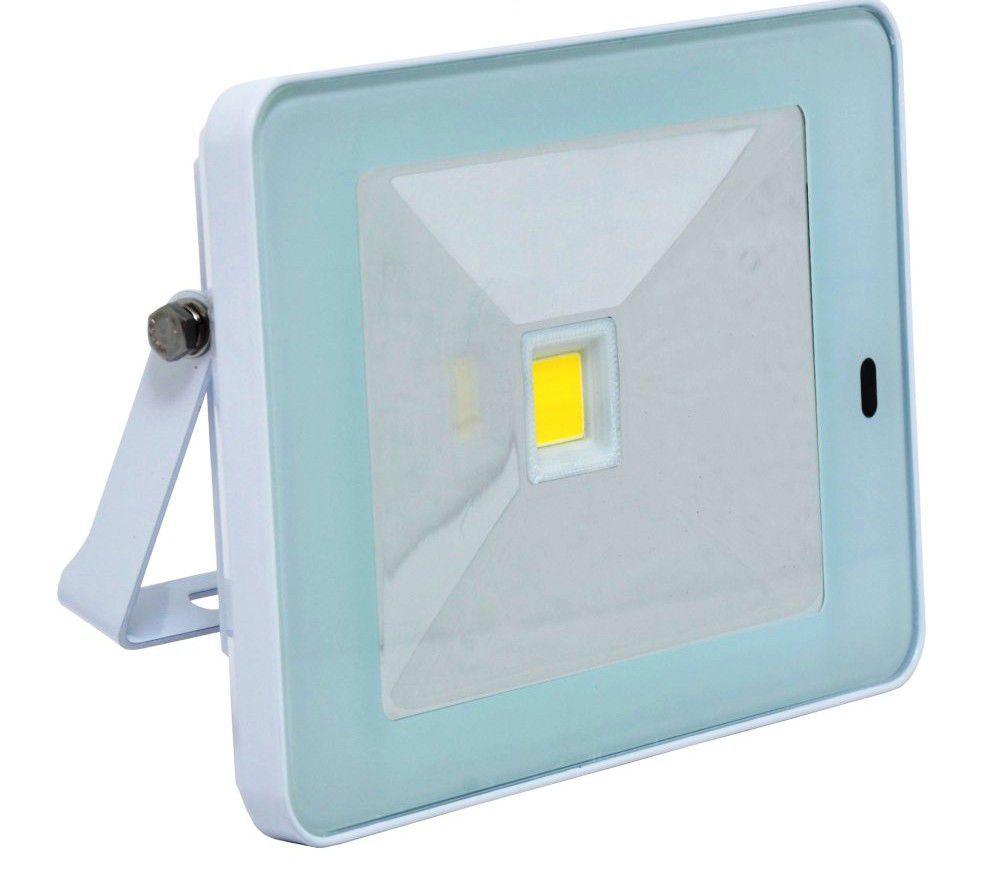 Ecolite LED reflektor s HF senz.,COB,10W,IP44,4100K (bílý)