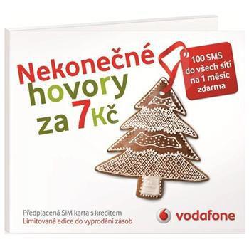 Vodafone Předplacená SIM karta bez limitu