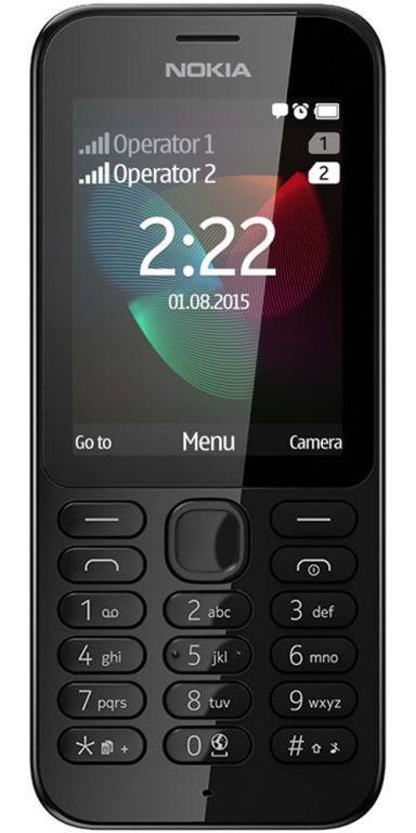 Nokia 222 Dual SIM (černý)