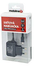 Mobilnet Micro USB nabíječka 1A (černá)