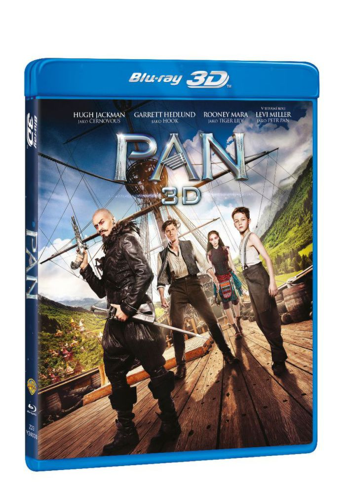 Pan - Blu-ray film (3D+2D)