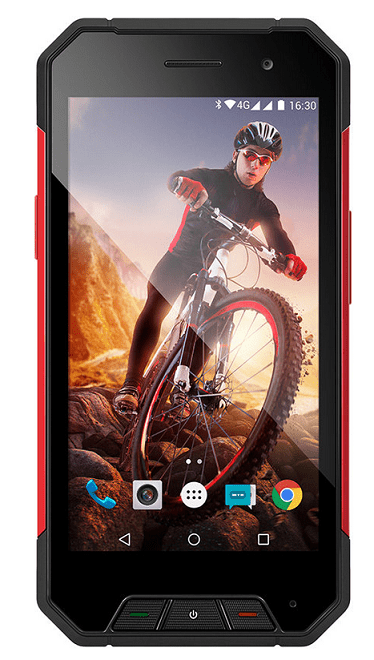 Evolveo StrongPhone Q7 LTE (černý)
