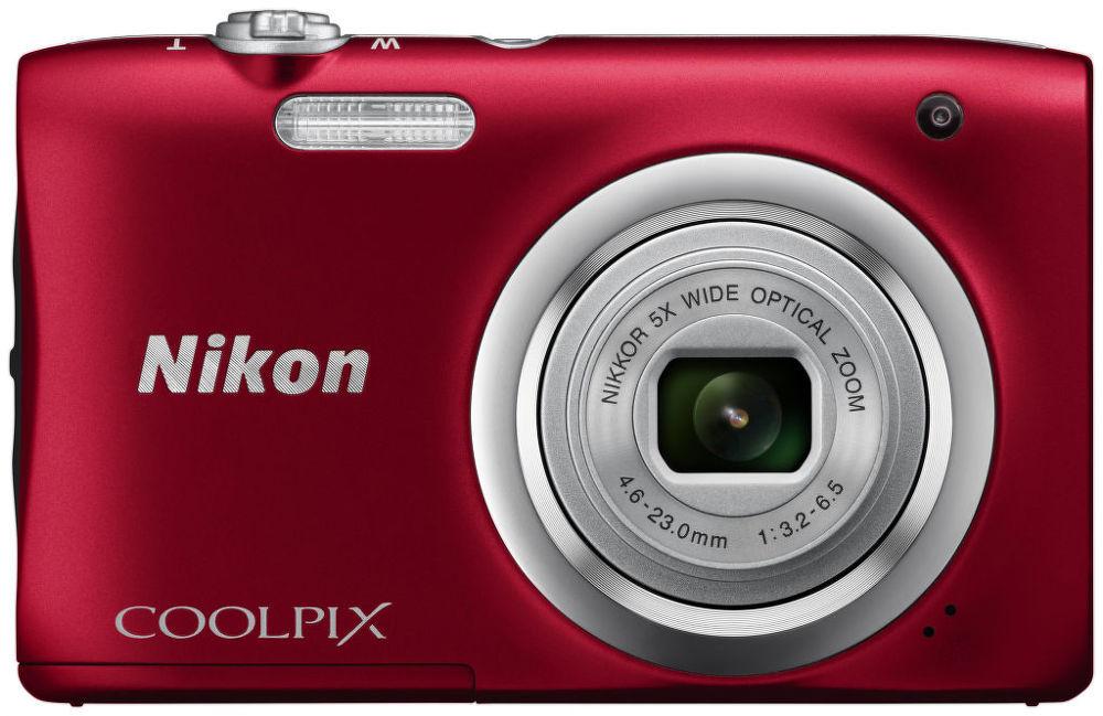 Nikon Coolpix A100 (červený)