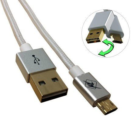 InHouse MKF-Reversible USB Gold 1,2 (bílý)