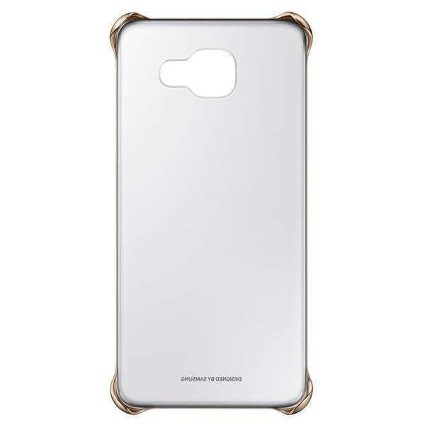 Samsung Clear Cover pro Galaxy A5 2016 (zlatý)