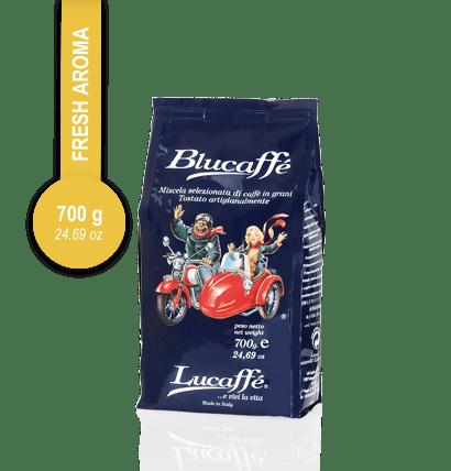 Lucaffé Blucaffé zrnková káva (700g)
