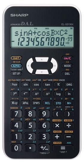 Sharp EL-531XHWHC - kalkulačka