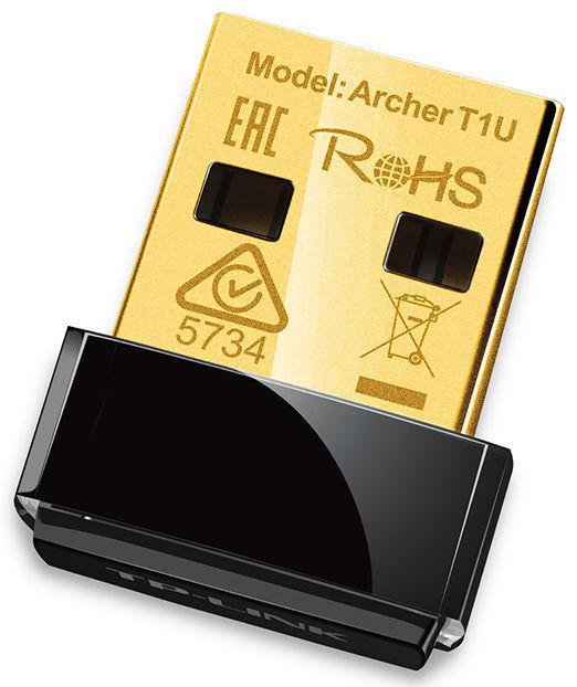 TP-Link Archer T1U, AC450 - Nano WiFi USB adaptér
