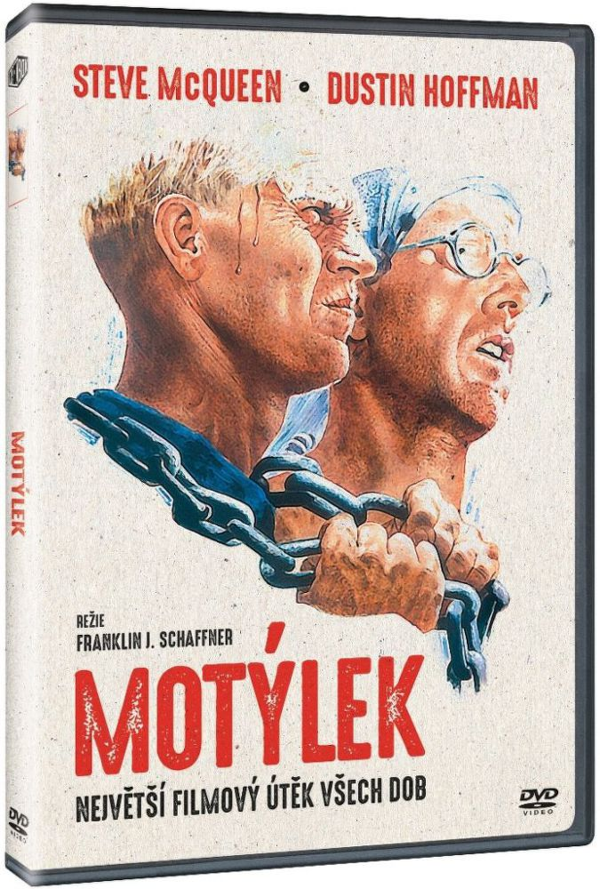 Motýlek - DVD film