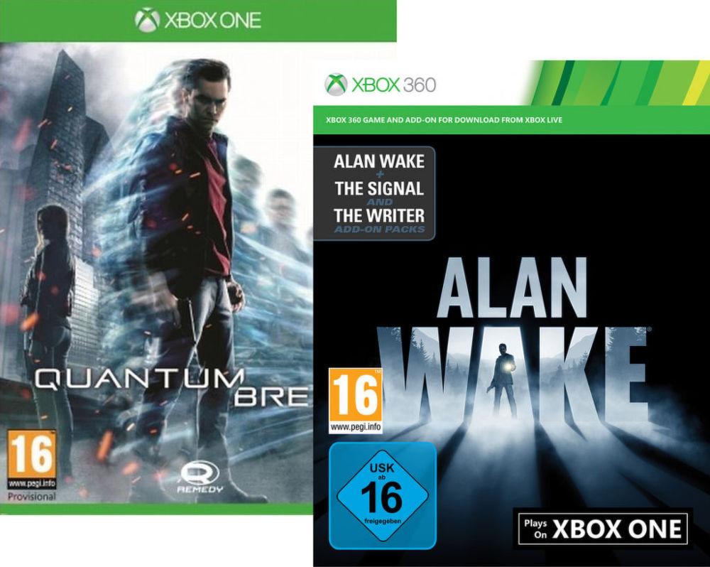 Quantum Break + Alan Wake - pro Xbox ONE