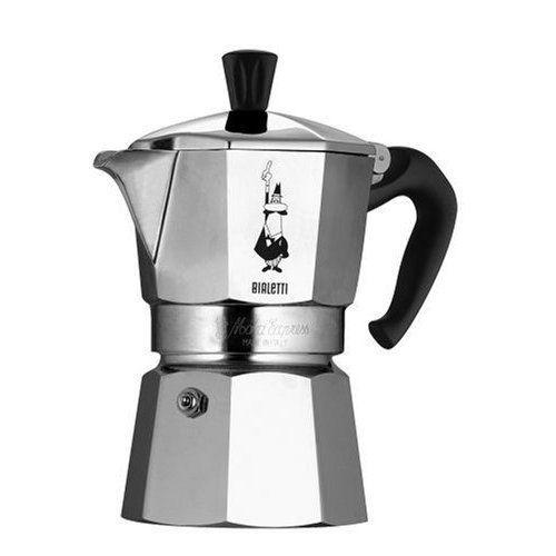 BIALETTI Moka Express 4 (stříbrná) - Moka kávovar