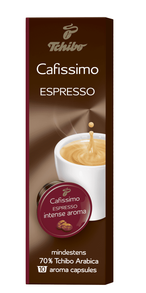 Tchibo Cafissimo Espresso Intense Aroma 75g - Kapslová káva
