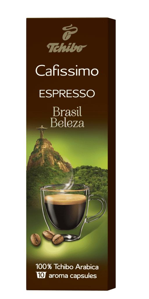 Tchibo Cafissimo Espresso Brazil Beleza 85g - Kapslová káva