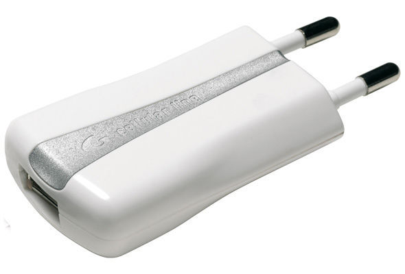 CellularLine nabíječka s USB výstupem (bílá)