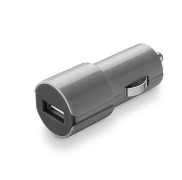 CellularLine Style&Color autonabíječka USB, 1A (šedá)