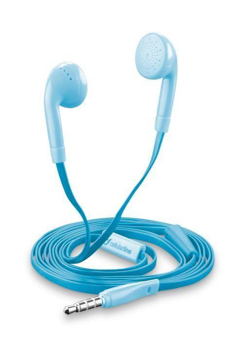 CellularLine Style&Color Butterfly (modrá) - sluchátka