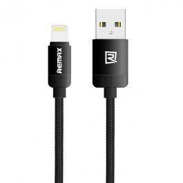 Remax AA-1128 Lovely Lightning kabel (černá)