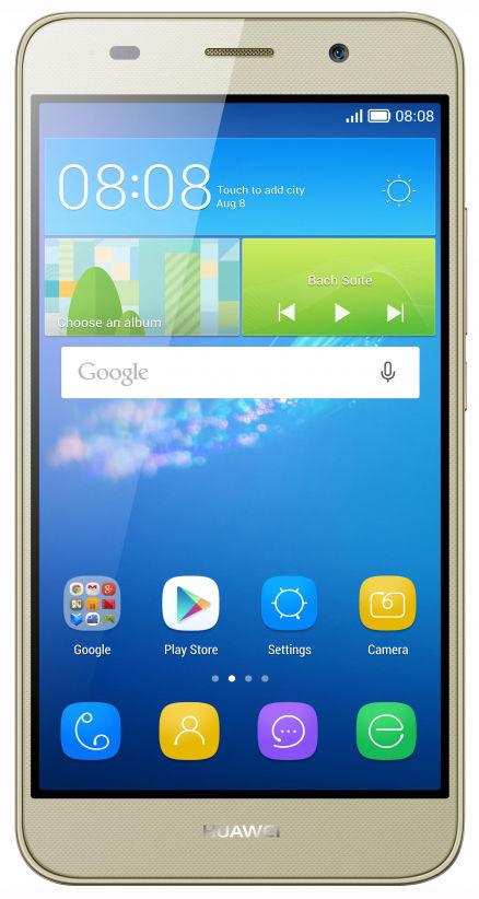 Huawei Y6 Pro (zlatý) + dárek T-Mobile mobilní internet s kreditem 200 Kč zdarma