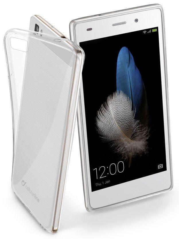 CellularLine Zadní kryt Fine pro Huawei P8 Llite (Transparentní)