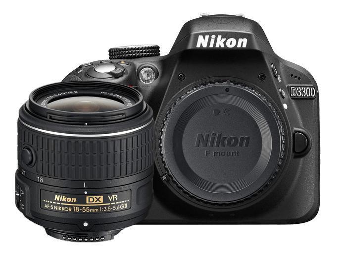 Nikon D3300 + AF-S DX 18-55 VR II