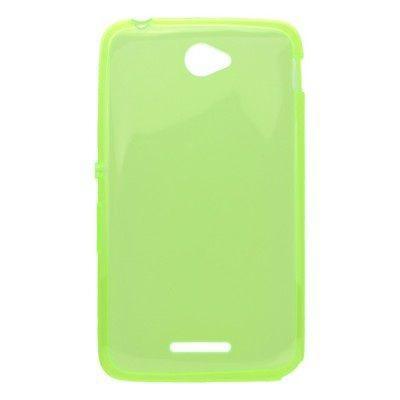 Mobilnet gum.pouzdro (zelené) na Sony E4