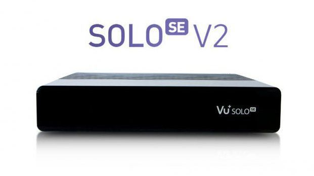 VU+ Solo SE V2 Single (černý)