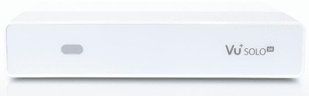 VU+ Solo SE V2 Dual DVB-S2 (bílý)