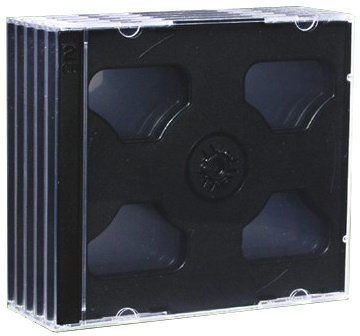 Esperanza Krabička na 2 CD - 5-pack ve fólií (černý)
