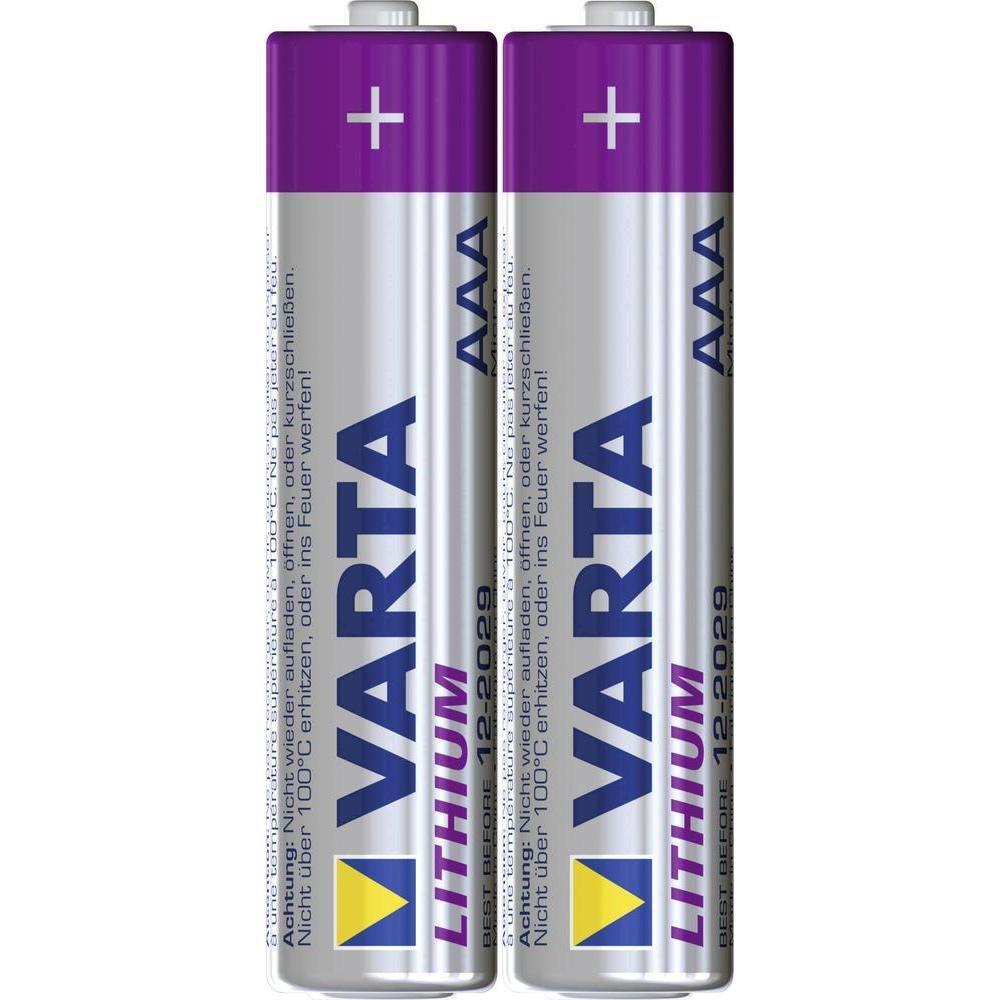 VARTA Lithium AAA 3+2