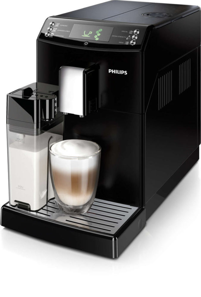 PHILIPS HD8834/09 One touch cappuccino (černá) - Automatické espresso
