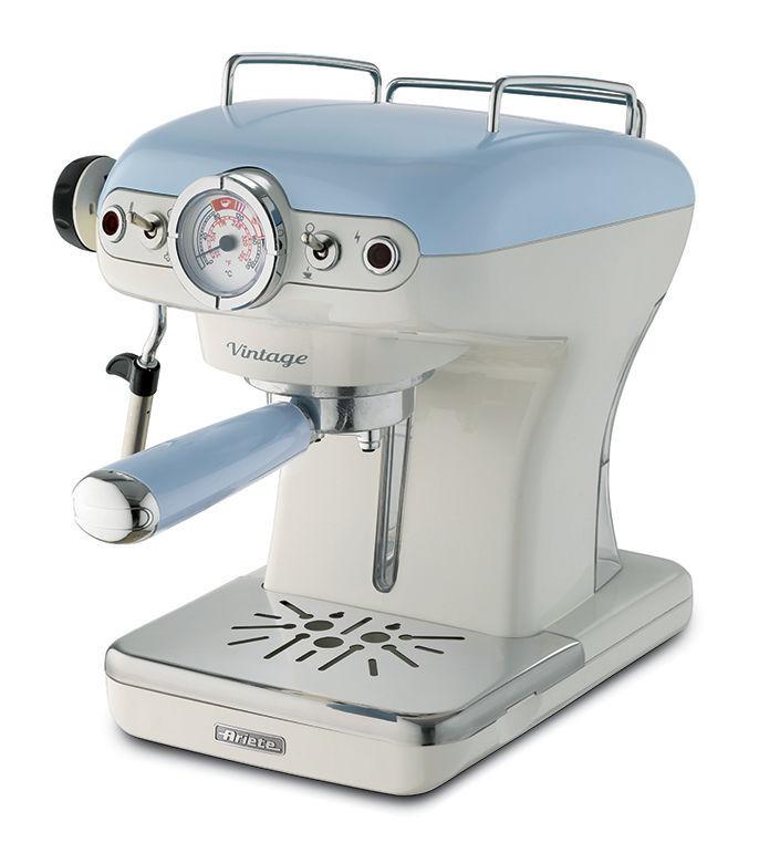 ARIETE 1389/15 Vintage (modrá) - Pákové espresso
