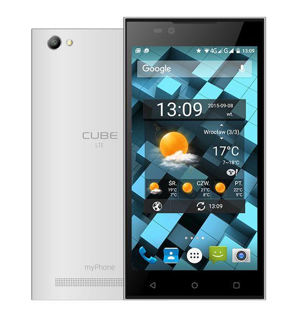 MyPhone Cube LTE (bílý)