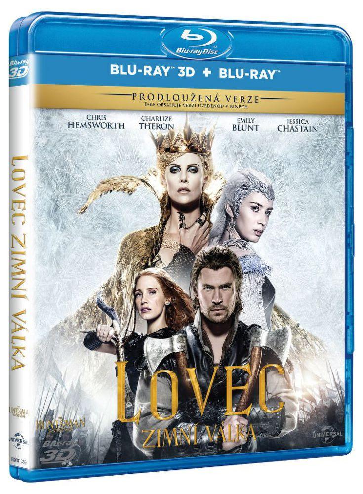 Lovec: Zimní válka - 3D Blu-Ray film