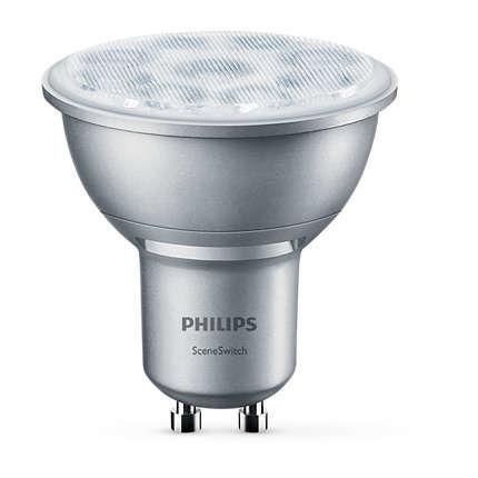 Philips Lighting 1,3-4,5 W (50W) GU10 WW 36D