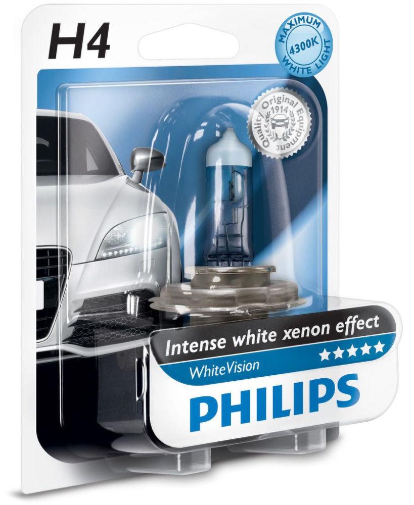 Philips Lighting H4 WhiteVision